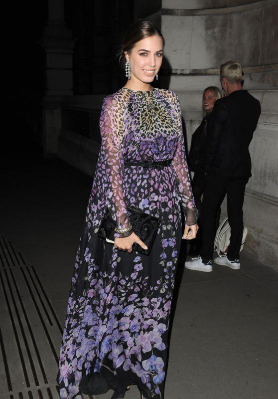 Amber Le Bon - Tunnel Of Love Fundraiser at the Victoria & Albert Museum in London