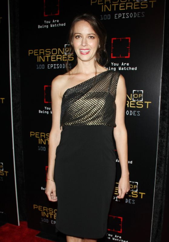 Amy Acker - Person of Interest 100th Episode Celebration in New York City