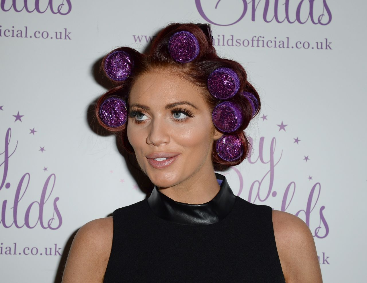 Amy Childs U2013 Ideal Home Show At Christmas, Event City, Manchester,  11/16/2015