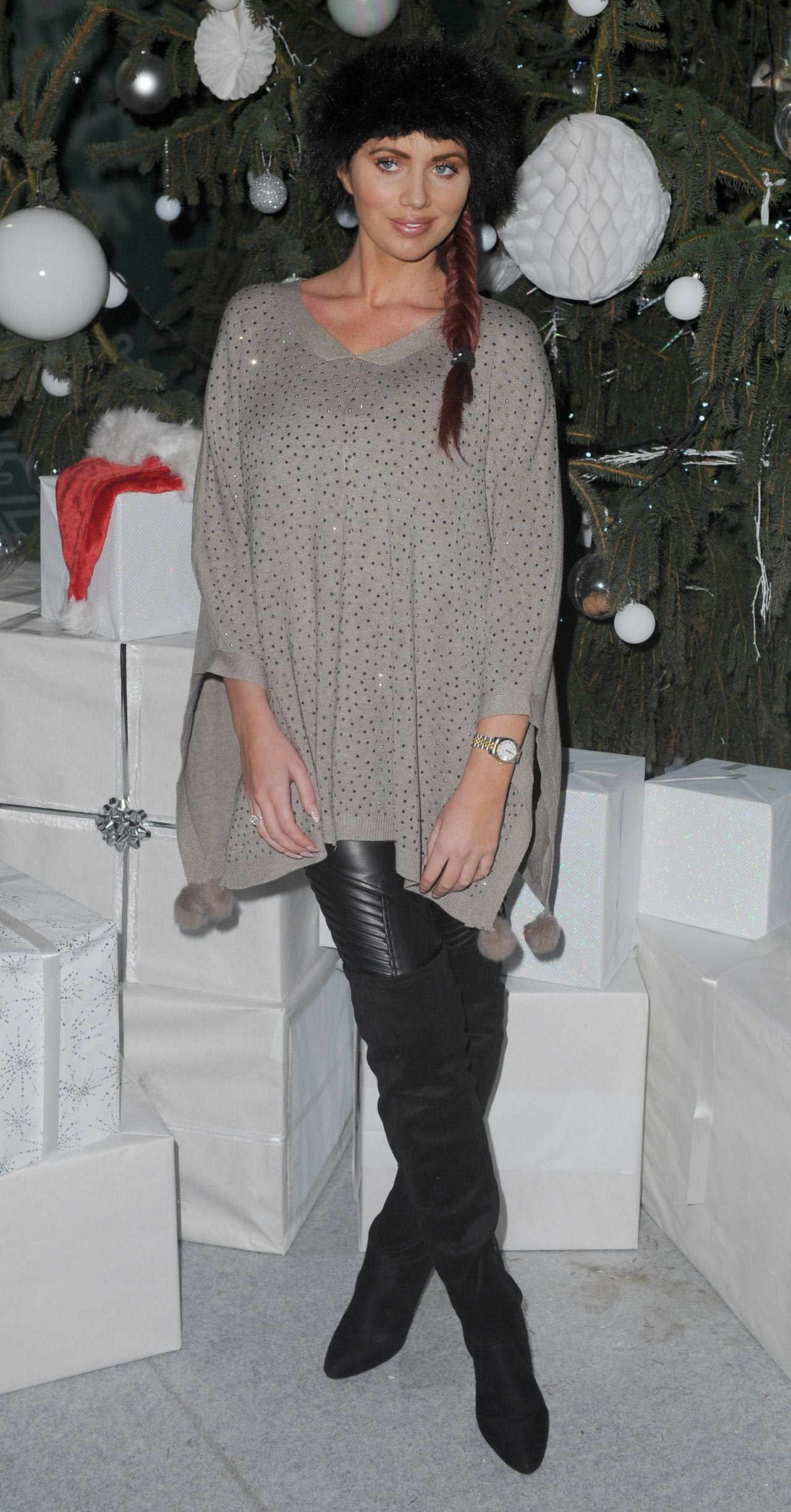 Amy Childs U2013 Ideal Home Show At Christmas, Event City, Manchester, November  2015