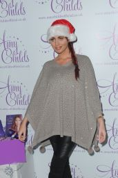 Amy Childs - Ideal Home Show at Christmas, Event City, Manchester, November 2015
