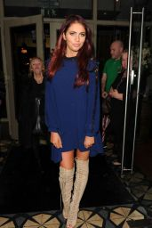 Amy Childs Style - Manchester, November 2015