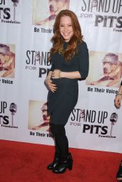 Amy Davidson - Stand Up For Pits Comedy Benefit in Hollywood, November 2015