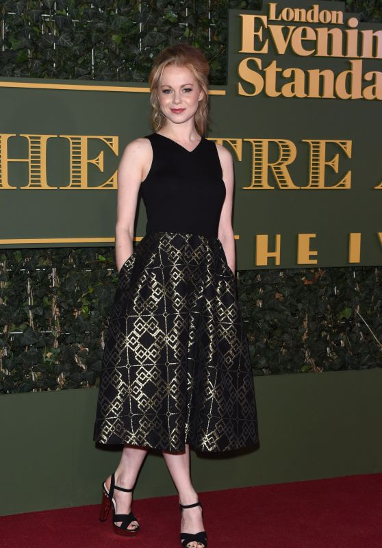Amy Lennox - The Evening Standard Theatre Awards in London, November 2015
