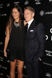 Ana Ivanovic and Bastian Schweinsteiger - Manchester United for UNICEF Gala Dinner in Manchester, 11/29/2015
