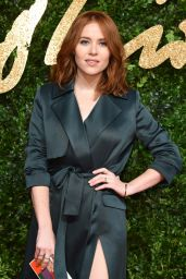 Angela Scanlon – British Fashion Awards 2015 in London