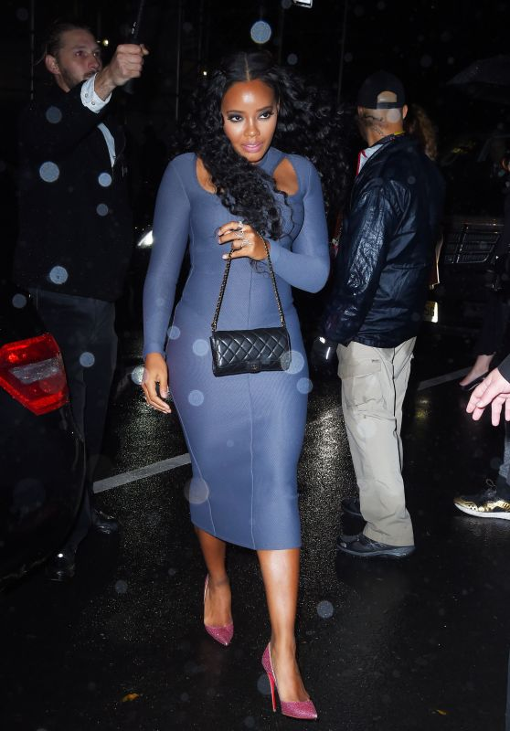 Angela Simmons – Victoria's Secret Fashion Show After Party at Tao Down-town in NYC