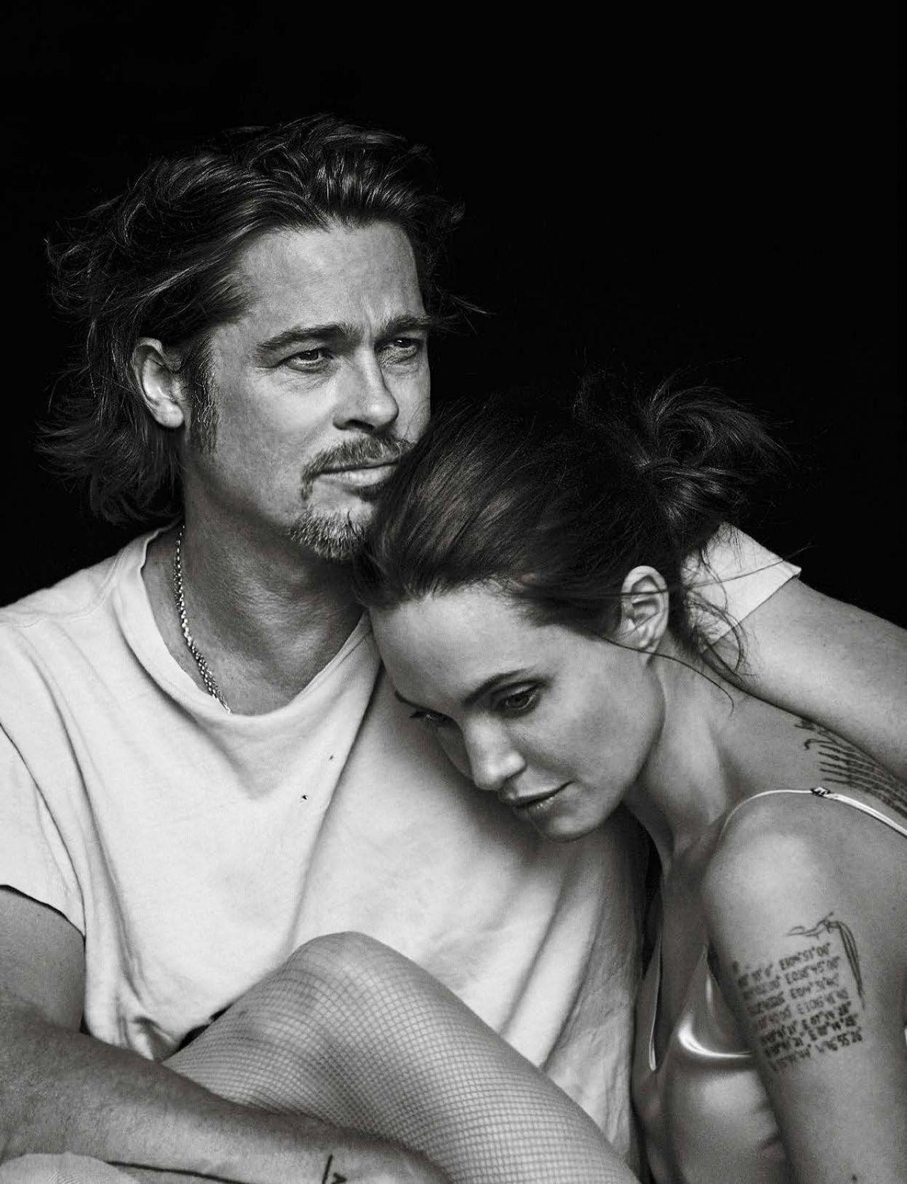 Angelina Jolie and Brad Pitt – Photoshoot for Vanity Fair Magazine ... Angelina Jolie