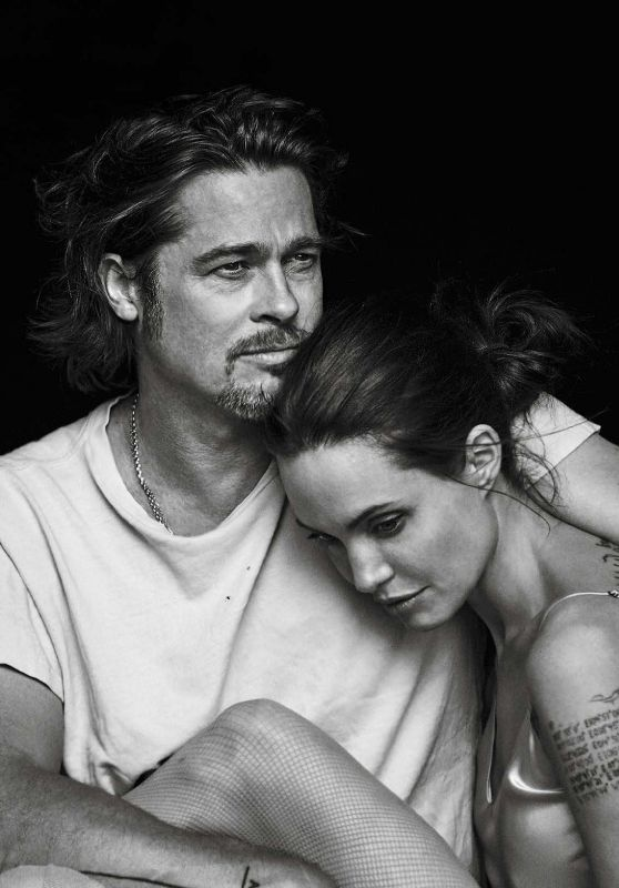 Angelina Jolie and Brad Pitt - Photoshoot for Vanity Fair Magazine Italia, November 2015