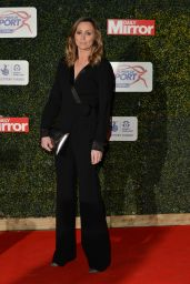 Anna Woolhouse - Daily Mirror Pride of Sport Awards 2015 in London