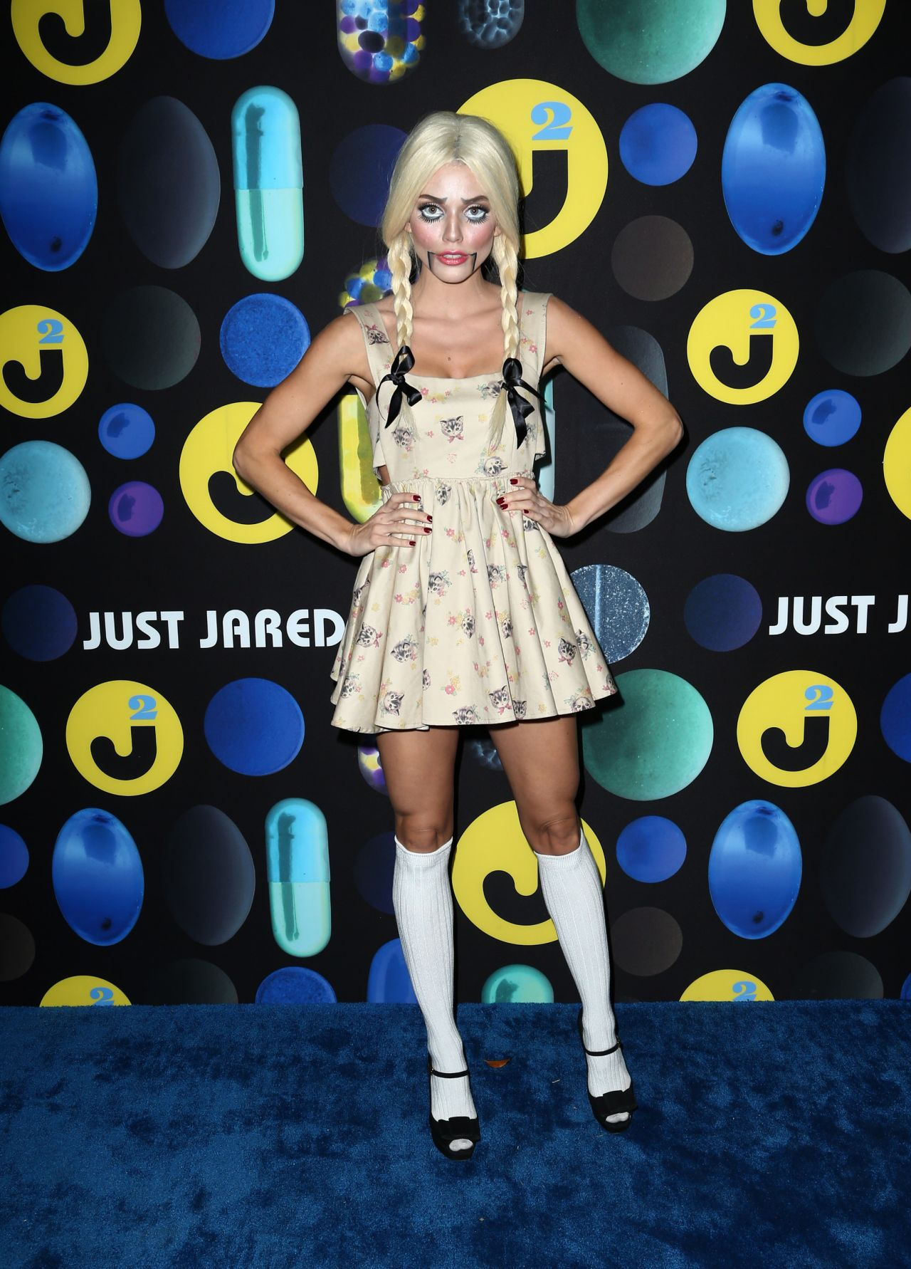 McCord – Just Jared Halloween Party in Los Angele, October 2015