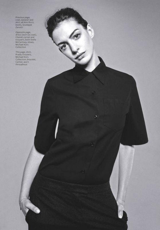 Anne Hathaway - InStyle Magazine UK December 2015 Issue