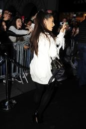 Ariana Grande - Out in Madrid, November 2015