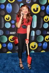 Ashley Madekwe – Just Jared Halloween Party in Los Angele, October 2015