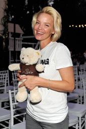 Ashley Scott – Petit Maison Chic Fashion Show in Beverly Hills, November 2015