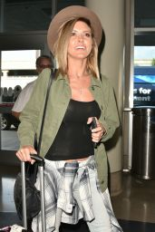 Audrina Patridge Airport Style - at LAX in Los Angeles, November 2015