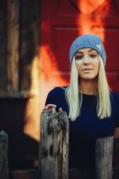 Ava Sambora - Photoshoot for Neff Headwear, October 2015