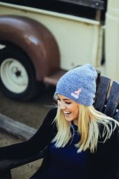 Ava Sambora - Photoshoot for Neff Headwear, October 2015