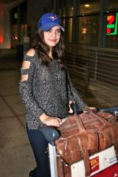 Bailee Madison - Pearson International Airport in Toronto, November 2015