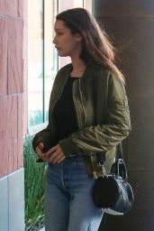 Bella Hadid - Outside a Studio in Santa Monica, November 2015