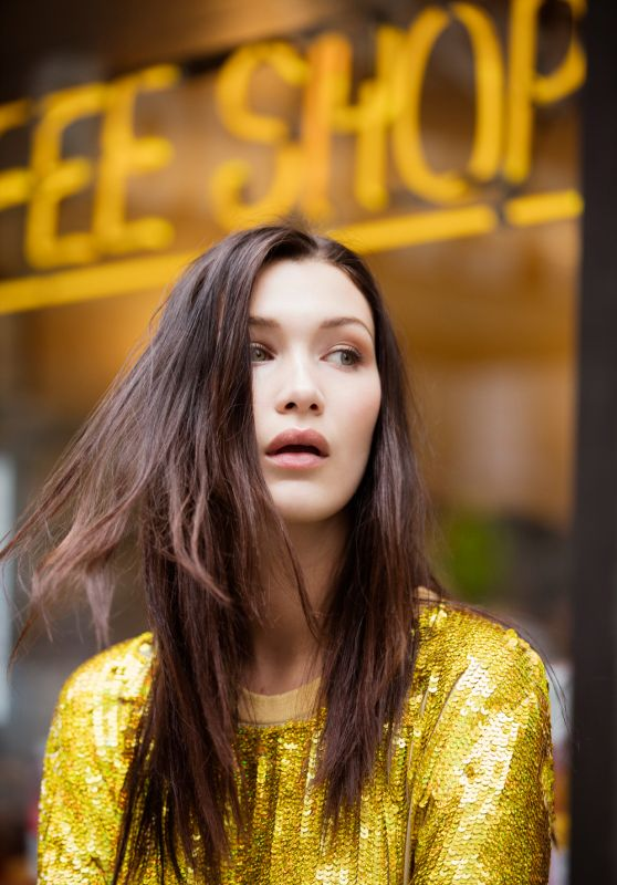 Bella Hadid - Photoshoot for Evening Standard November 2015