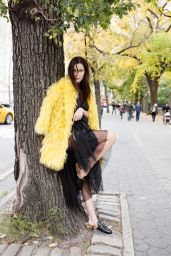 Bella Hadid - Photoshoot for Evening Standard November 2015