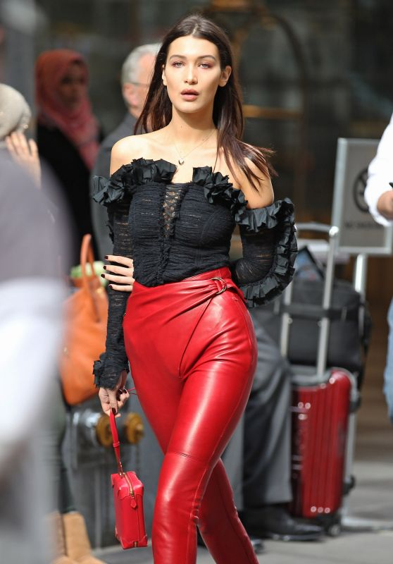 Bella Hadid - Photoshoot in New York City, November 2015