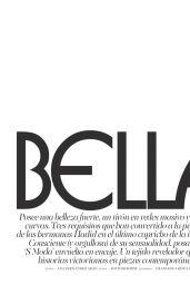 Bella Hadid - S Moda Magazine Spain - December 2015 Issue