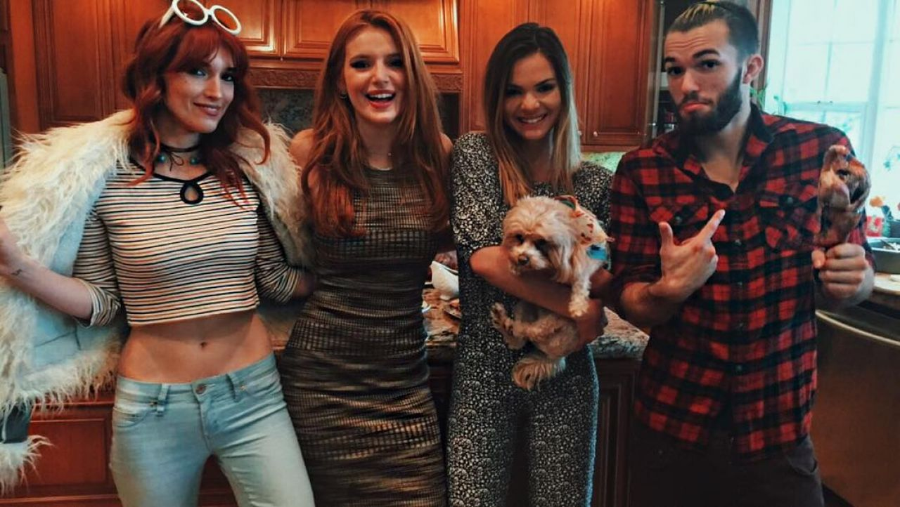 Bella Thorne and Friends - Social Media Pics, November 2015