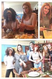Bella Thorne and Friends - Social Media Pics, November 2015
