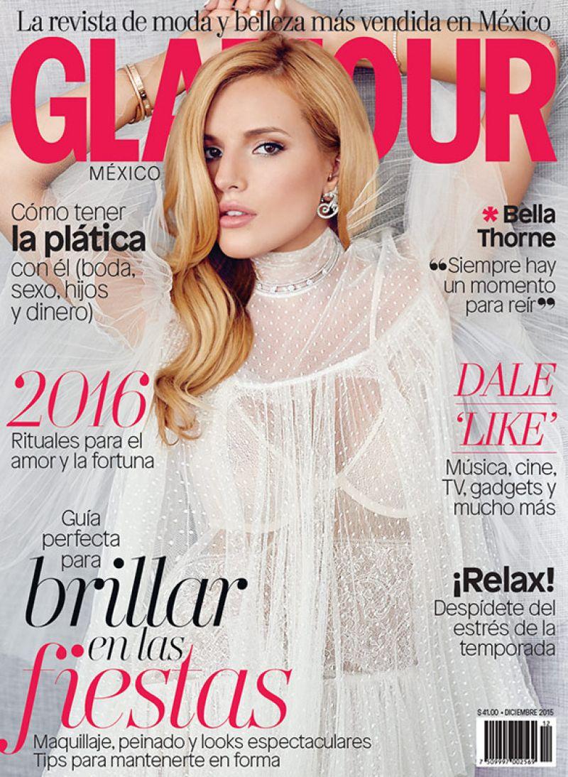 Bella Thorne - Glamour Magazine Mexico December 2015 Cover ...