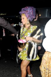 Beyonce - Going to the Halloween Parade NYC, October 2015