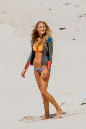 Blake Lively in a Bikini on the Set of