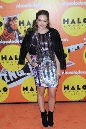 Brec Bassinger – 2015 Nickelodeon HALO Awards at Pier 36 in New York