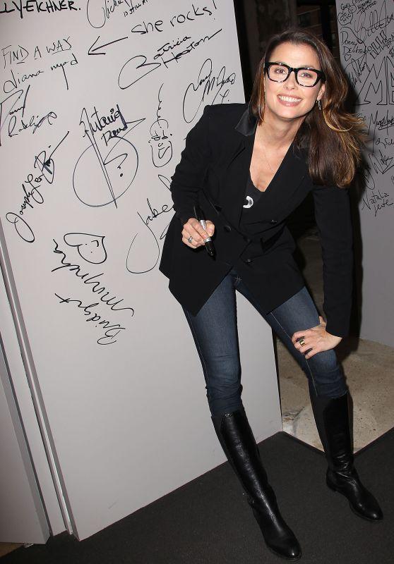 Bridget Moynahan at AOL Studios in NYC, November 2015