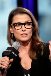 Bridget Moynahan at AOL Studios in NYC, November 2015