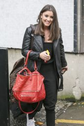 Brooke Vincent - Leaving the ITV Studios in London, November 2015