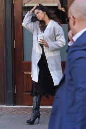 Camila Alves - Leaves Her Downtown Hotel - Manhattan, november 2015