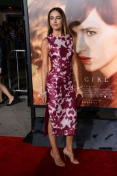 Camilla Belle - The Danish Girl premiere in Westwood, November 2015