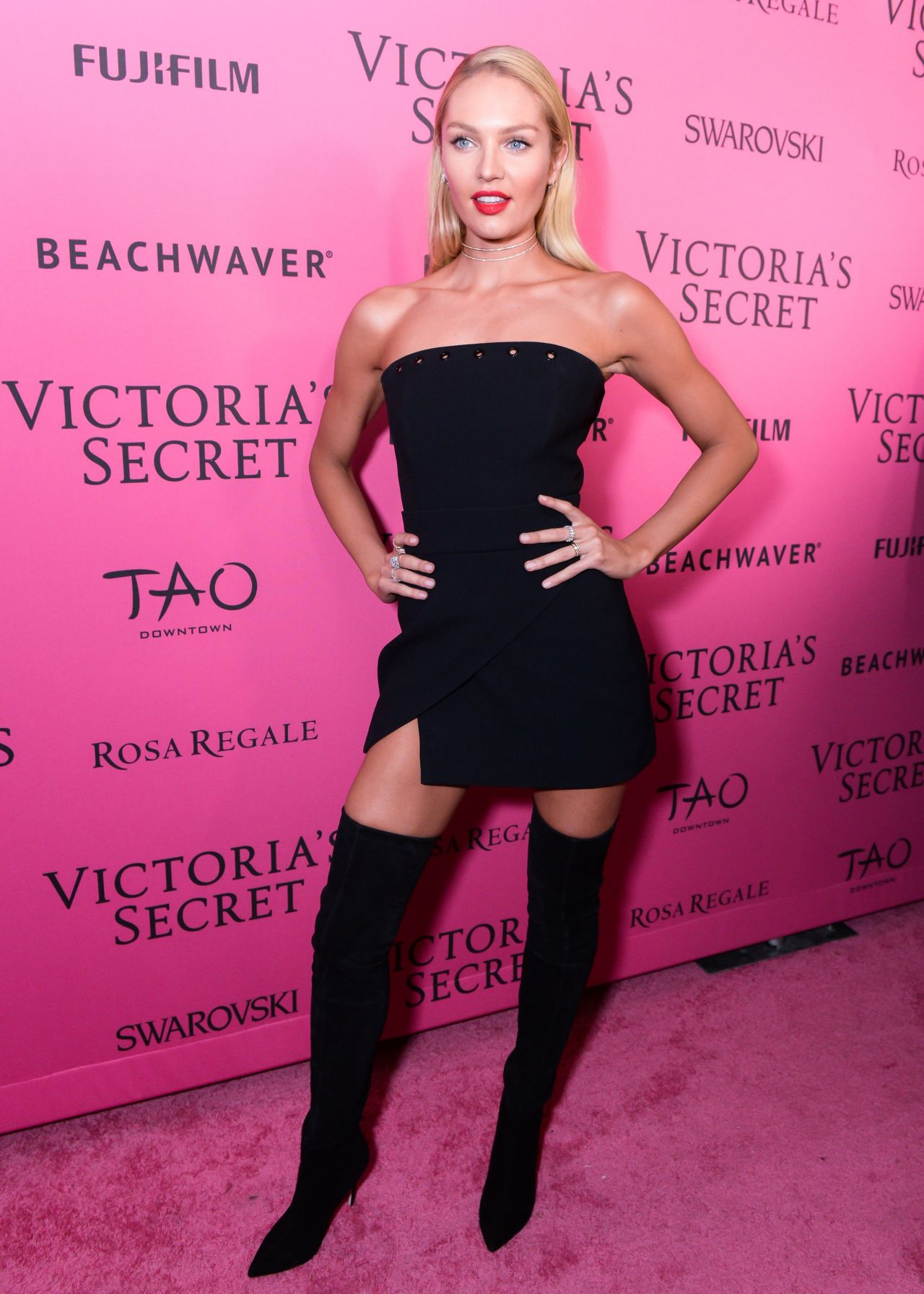 Candice Swanepoel 2015 Victoria S Secret Fashion Show