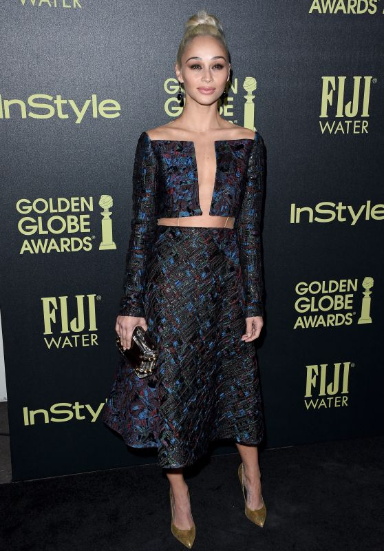 Cara Santana – HFPA and InStyle Celebrate The 2016 Golden Globe Award Season