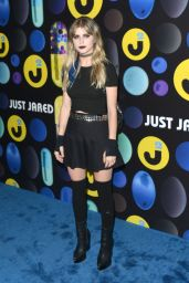 Carlson Young – Just Jared Halloween Party in Los Angele, October 2015