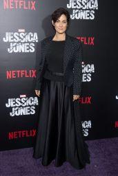 Carrie-Anne Moss - Jessica Jones Series Premiere at Regal E-Walk