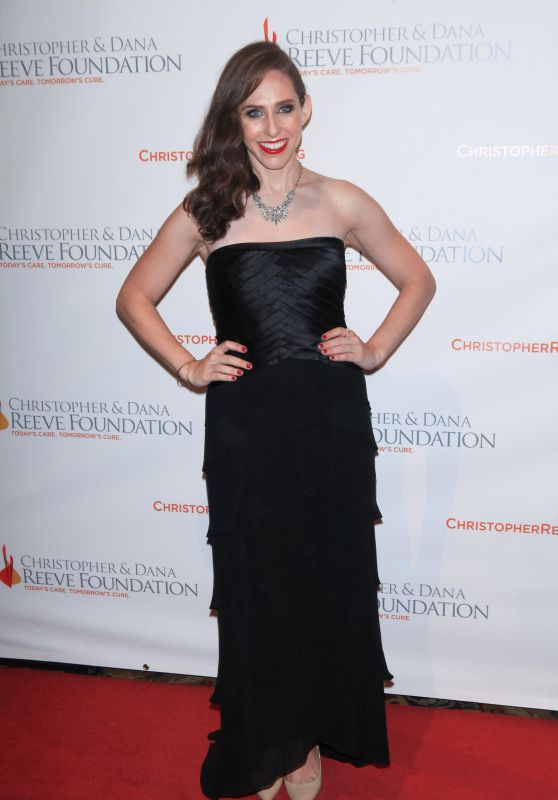 Carrie Hammer – Christopher & Dana Reeve Foundation 25th Anniversary 'A Magical Evening' Gala in New York
