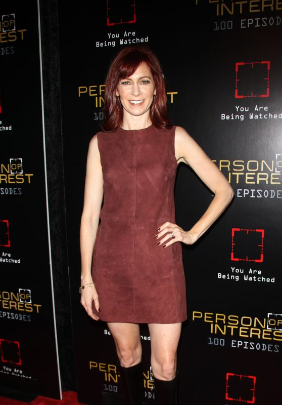 Carrie Preston - Person of Interest 100th Episode Party in New York