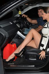 Casey Batchelor at Her Birthday Party at Gilgamesh in London, November 2015