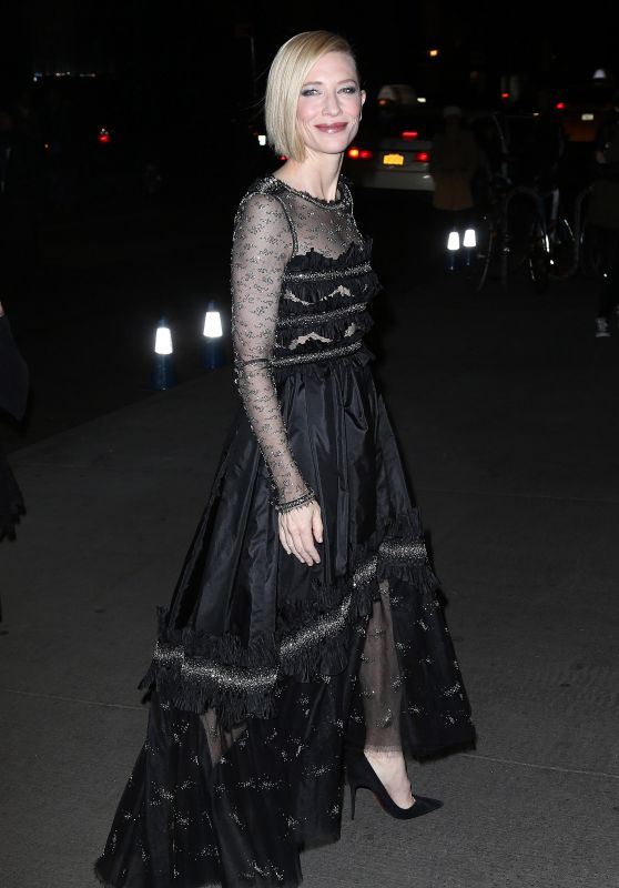 Cate Blanchett - Arrives at 2015 Museum Of Modern Art Film Benefit Honoring Cate Blanchett in New York