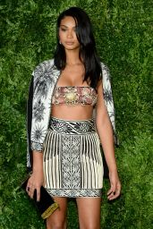 Chanel Iman - 2015 CFDA/Vogue Fashion Fund Awards in New York City