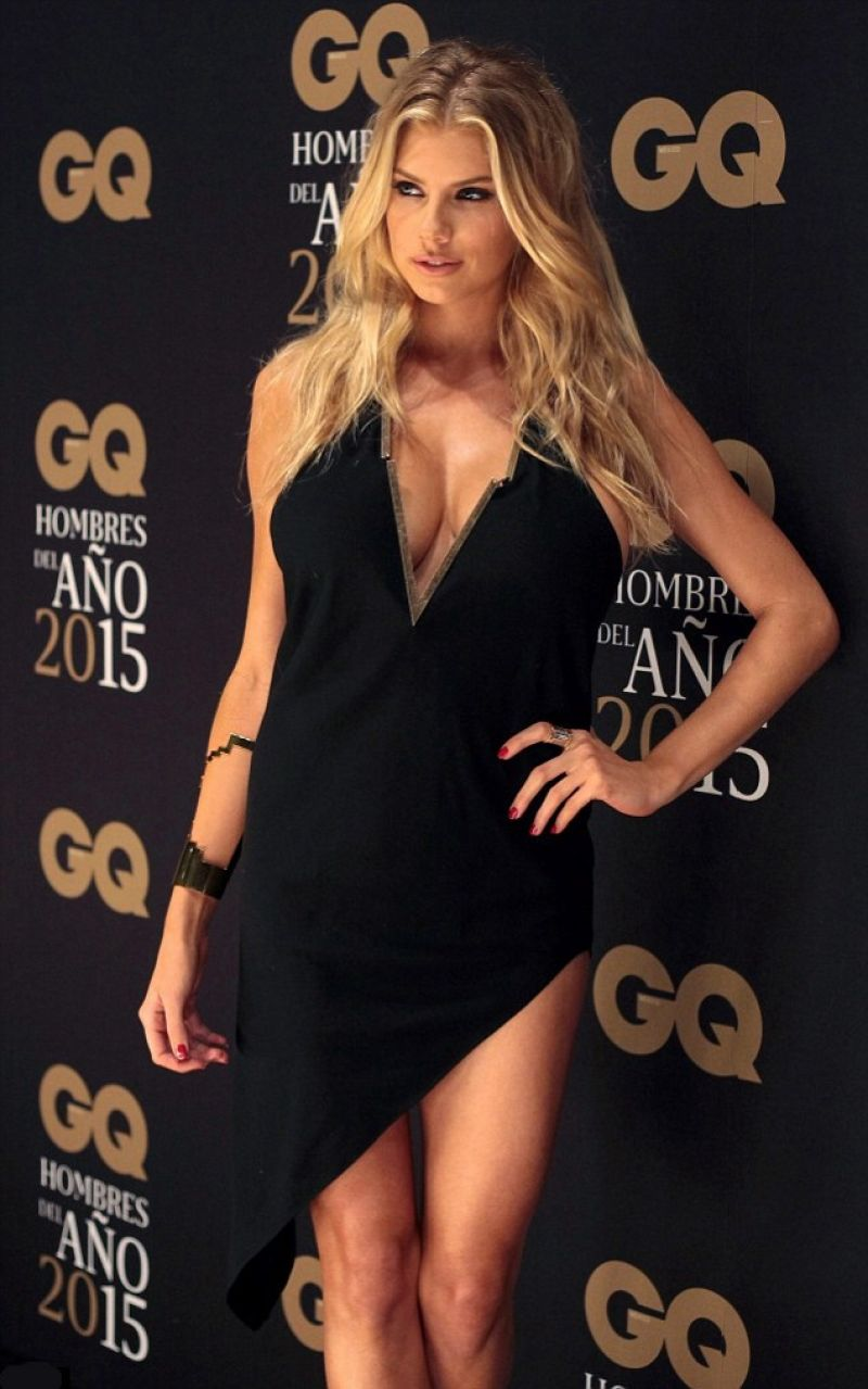 2015 Gq Men Of The Year Party In Los Angeles: Charlotte McKinney- 2015 GQ Men Of The Year Mexico Awards