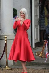 Chloe Sims – Towie Cast Film Nanny Pats Royal 80th Birthday Party, Croydon in London